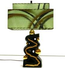 Stunning 50s Retro Mcm Mid Century Modern Atomic Lamp