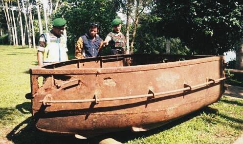 Kapal Belanda Situ Cileunca