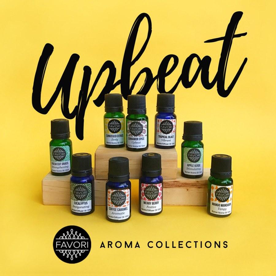 FAVORI Upbeat Aroma Collection 02 Aroma Oils