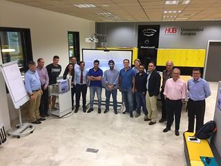 Asistentes a la Lección Magistral del Director de Producción de Iberia del Curso de Gestión de Empresas de Transporte Aéreo de la Universidad Europea