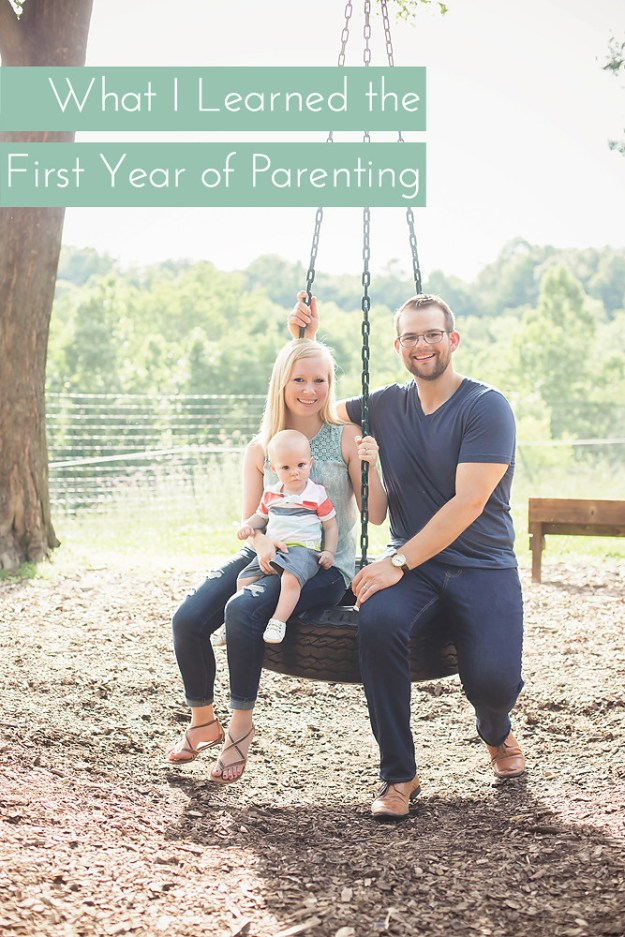 What I Learned the First Year of Parenting