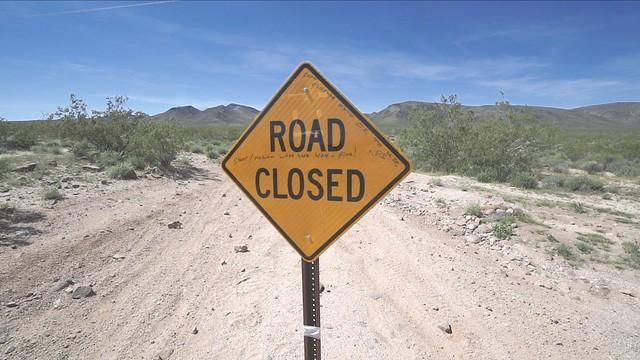 Mojave Road Closure