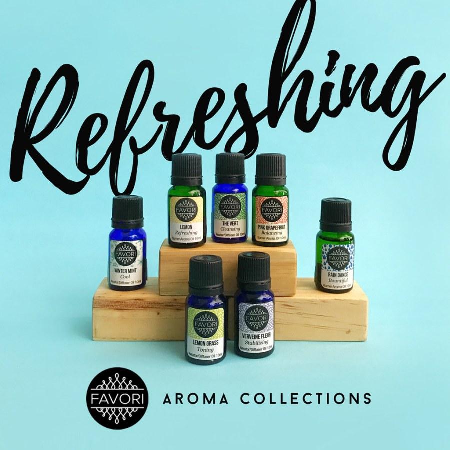 FAVORI Refreshing Aroma Collection 02 Aroma Oils