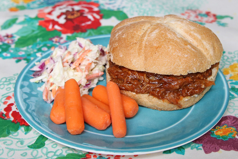 Slow Cooker Sweet & Tangy Pulled Pork