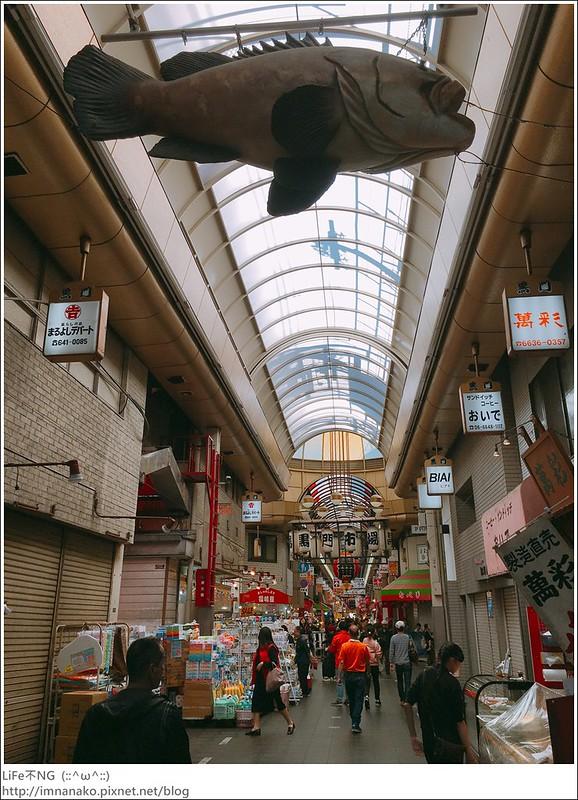 [大阪。自由行]日本橋駅。大阪人的廚房-黑門市場 @ LiFe不NG :: 痞客邦