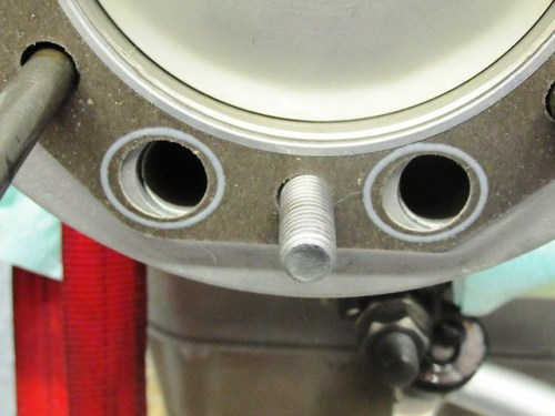 Head Gasket-INCORRECT Orientation Obstructs Push Rod Tube Holes
