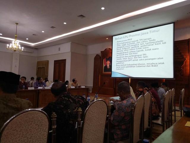 Susanana Rapat Kunjungan Kerja Komisi II DPR RI (2/5)