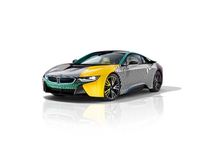 BMW i8 Memphis style