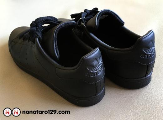 Black adidas stan smith 03