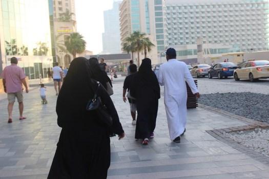 Como vestir en Dubai