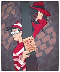 Carmen Sandiego and Where's Waldo