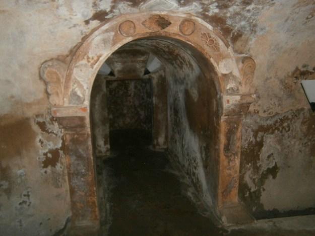 Underground Mosque Doorway Arch