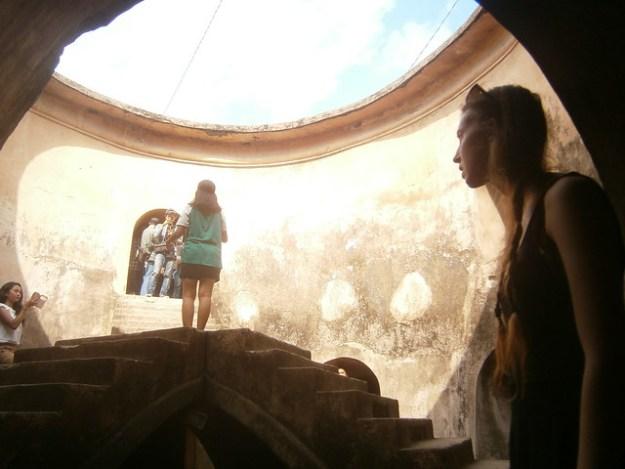 Briana Inside the Underground Mosque