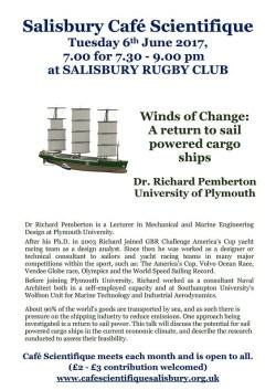 Poster for Dr Richard Pemberton