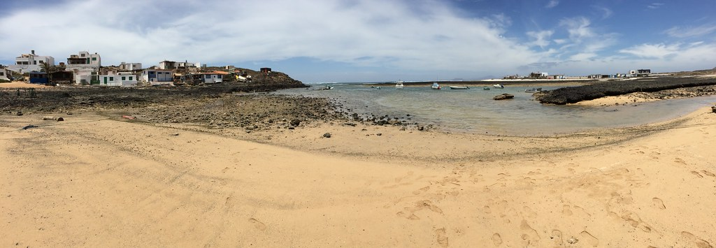 Majanicho pueblo y playa Isla de Fuerteventura 096