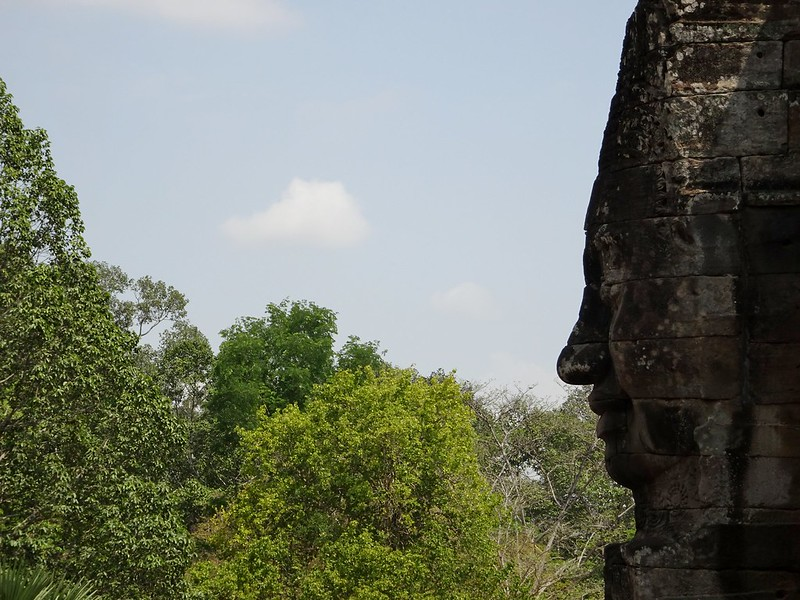 Bayon Temple, Angkor Thom, Siem Reap, Cambodia - the tea break project solo travel blog