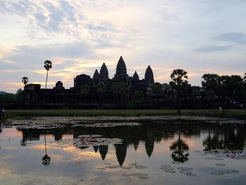 Angkor Wat temple sunrise, Siem Reap, Cambodia - the tea break project solo travel blog