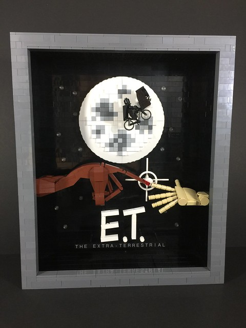 'E.T. The Extra-Terrestrial' Movie Poster