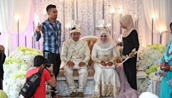majlis kahwin adik ipar