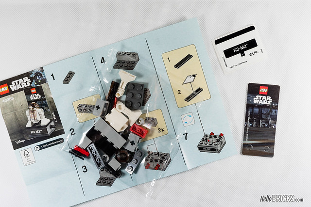 Review polybag LEGO Star Wars 40268 R3-M2