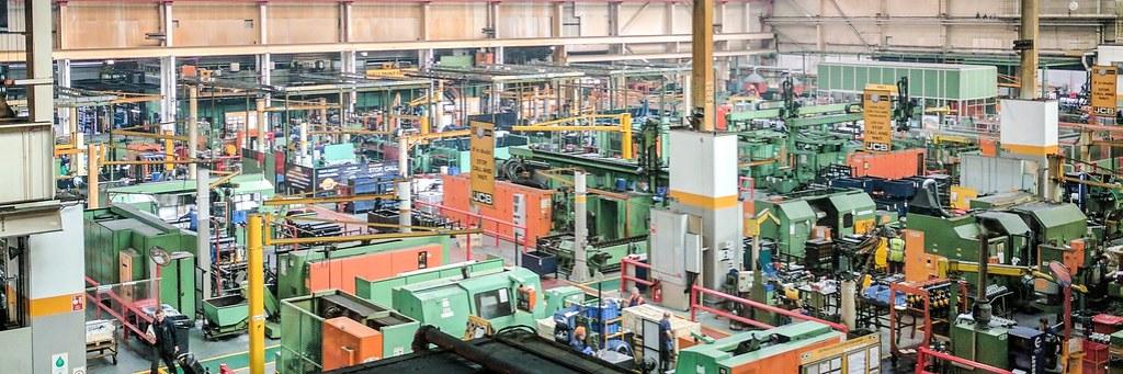 JCB factory