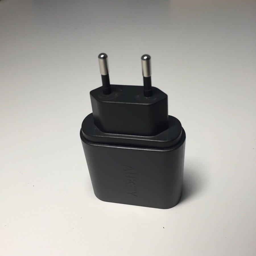 Test du chargeur AUKEY 1 port USB Quick Charge 3.0 (PA-T9) 3