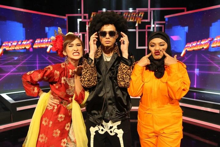 Neera Azizi, Ryzal Jaafar dan Zulin Aziz berebut gelaran Juara Perang Bibir 2017 dan hadiah wang tunai sebanyak RM 30,000