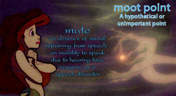 moot not mute Y #AtoZChallenge Your Point is Moot #Fiction #SFF