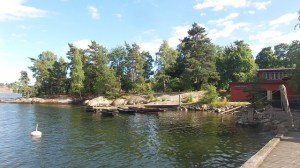 Fjäderholmarna, even proeven van de archipel