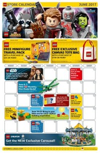 LEGO June 2017 Store Calendar Promotions & Events - The ...