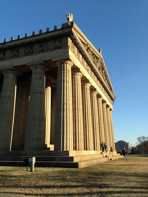 The Parthenon and Athena, Nashville TN