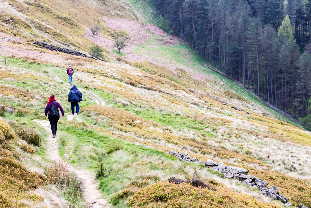Hiking the Derwent Reservoir