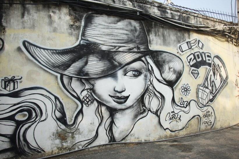 street art i Ho Chi Minh City - Saigon