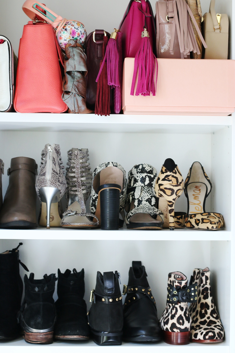 Shoe Closet Transformation How To Organize Your Shoes