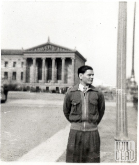 Dad at the Art Museum in 1941