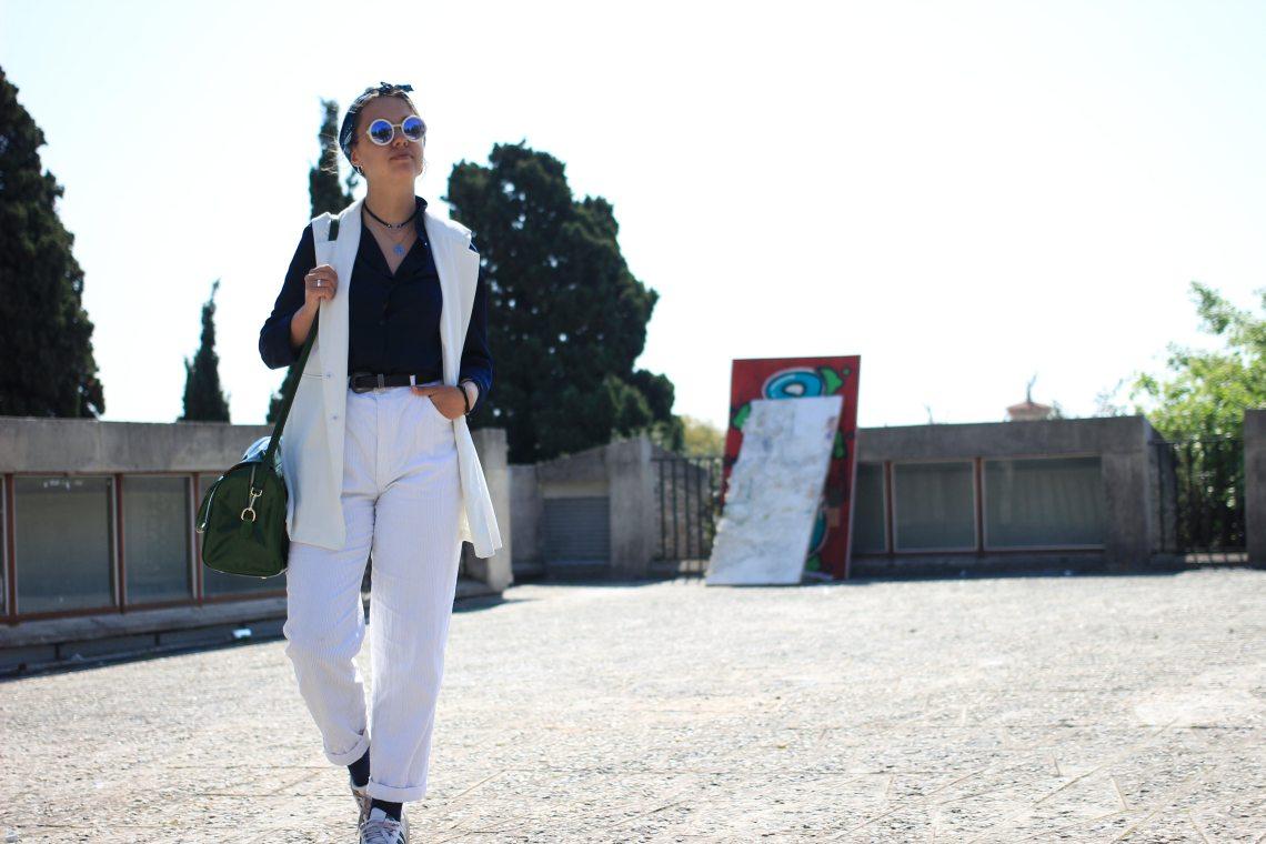 2 tenue blanche