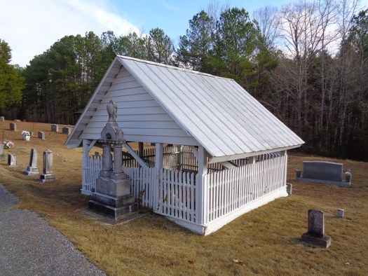 Graveshelter at Prudes Creek Cemetery, Adger AL