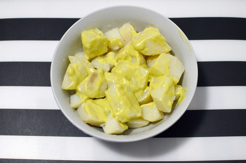 Potato and avocado oil mayonnaise
