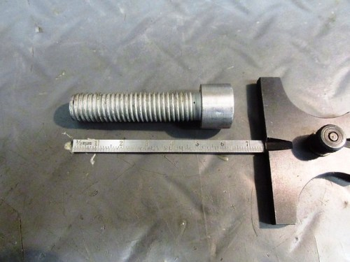 M12 x 50 Torx Head Bolt Makes a Nice Mandrel For Driving Push Rod Tubes