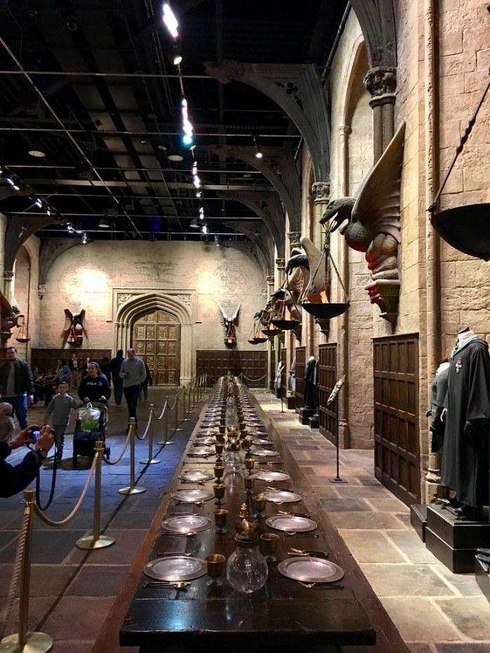 Warner Bros Studio London Harry Potter Great Hall