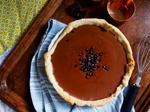 Vegan Chocolate & Caramel Tart