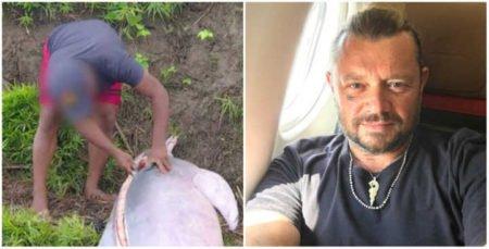 Apresentador de TV é acusado de mandar matar boto para exibir na Globo, boto-rasmussen-450x229