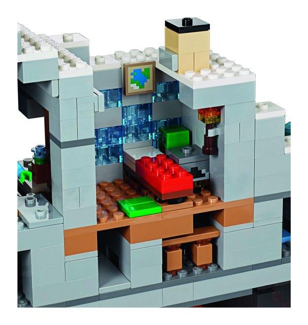 Minecraft Red Bed Set
