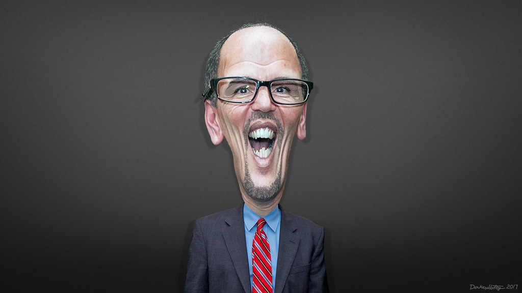 Tom Perez  Caricature  Thomas Edward Perez aka Tom
