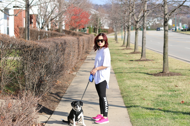 ivy-park-leggings-shirt-adidas-pureboost-dog-5