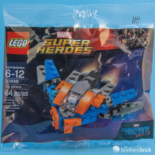 Free LEGO Marvel Guardians of the Galaxy Vol. 2 The Milano 30449 ...
