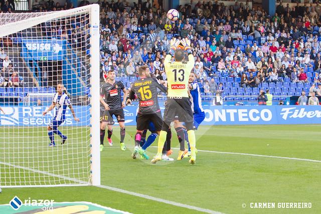 Temporada 16/17. RC Deportivo - Espanyol