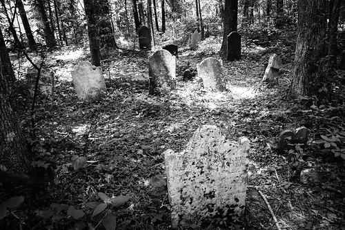 Old Stone Cemetery at Landsford Canal-1