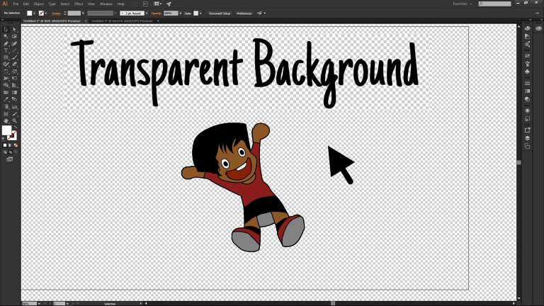Simply knock out white background in Adobe Illustrator