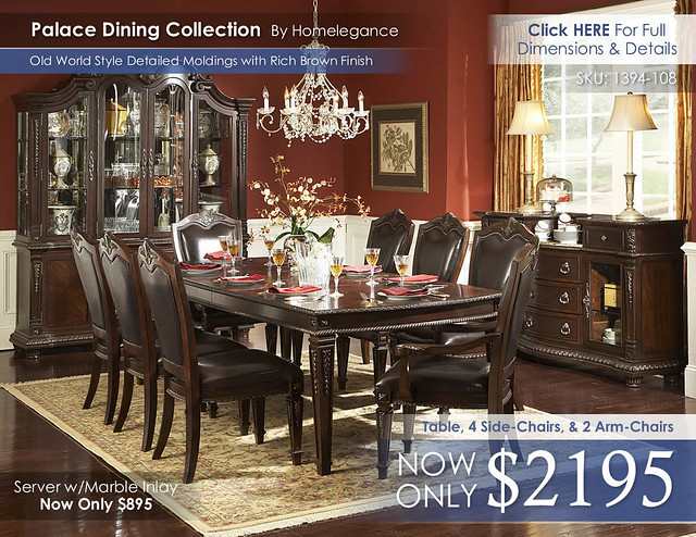 Palace Dining Collection By Homelegance 1394-108
